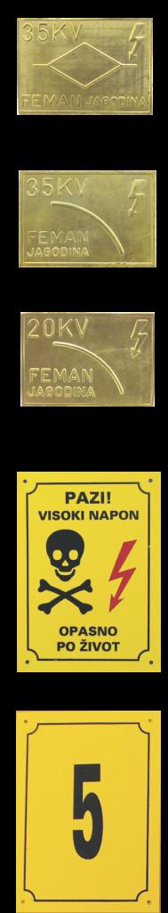 Pločice za označavanje