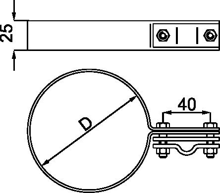 OBUJMICA ZA OLUK-SLIVNIK - JUS N.B4.914-A