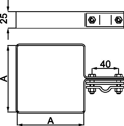 OBUJMICA ZA OLUK-SLIVNIK - JUS N.B4.914-B