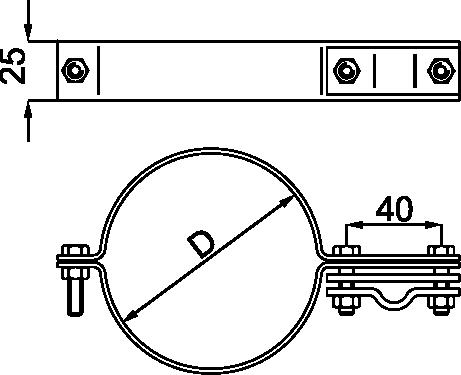 OBUJMICA ZA CEV - JUS N.B4.915